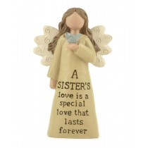 Sisters Love Angel Decoration