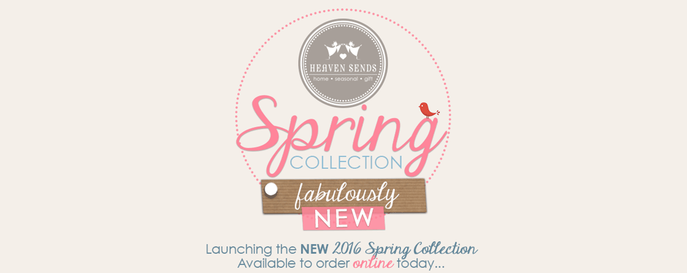 New 2016 Spring has landed early!