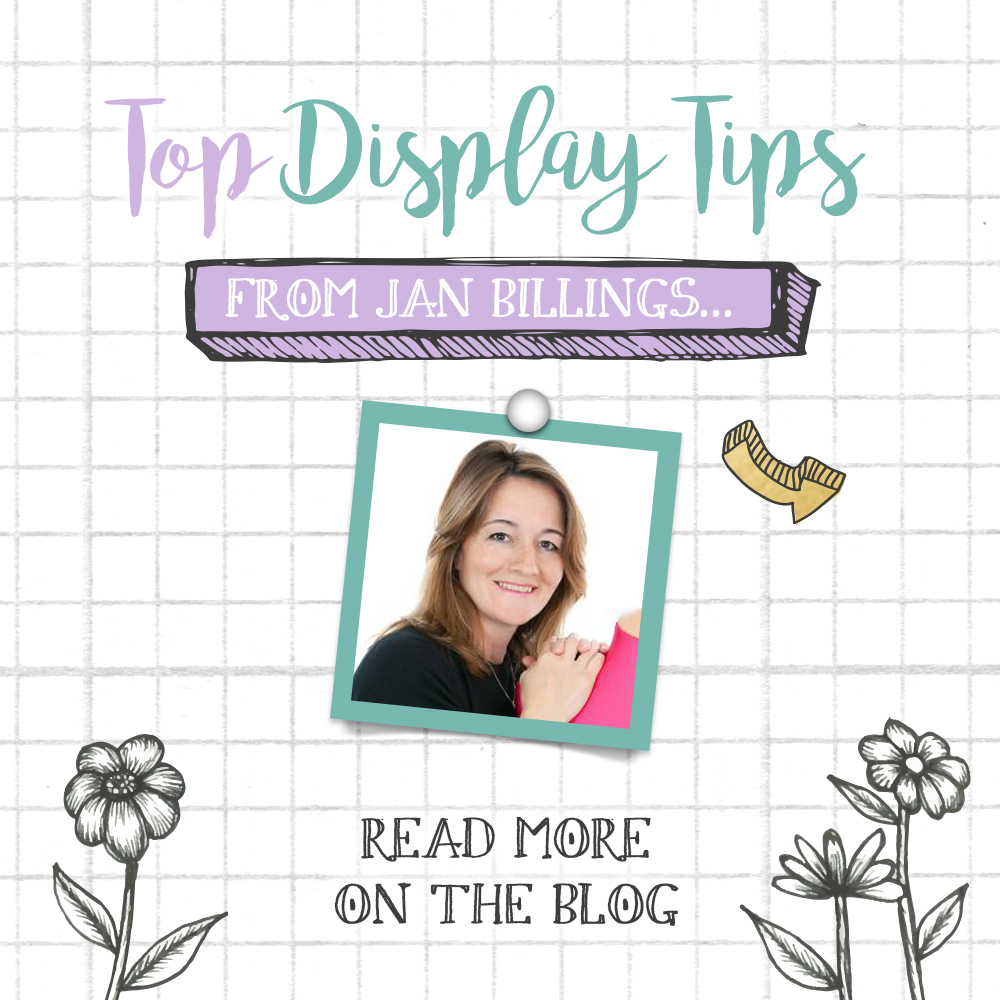 Make your Merchandising AMAZING with Jan Billings' Top Display Tips!