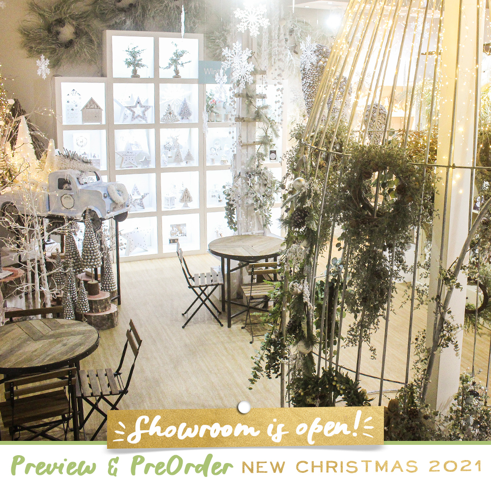 Showroom Open! Preview & Pre-order New Christmas 2021